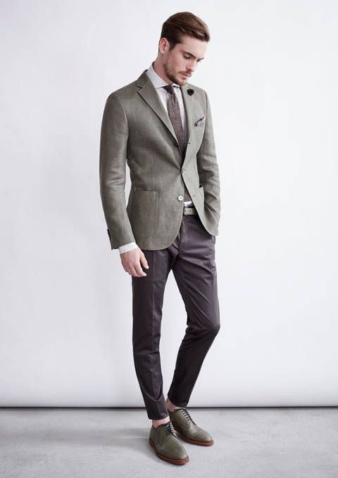 How to Wear a Grey Blazer (566 looks) | Men's Fashion