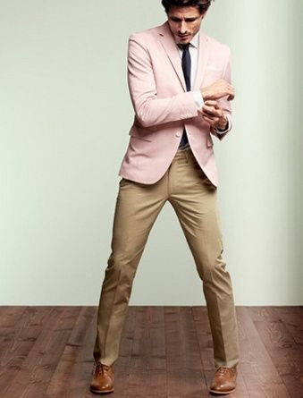 How to Wear a Pink Blazer (31 looks) | Men's Fashion