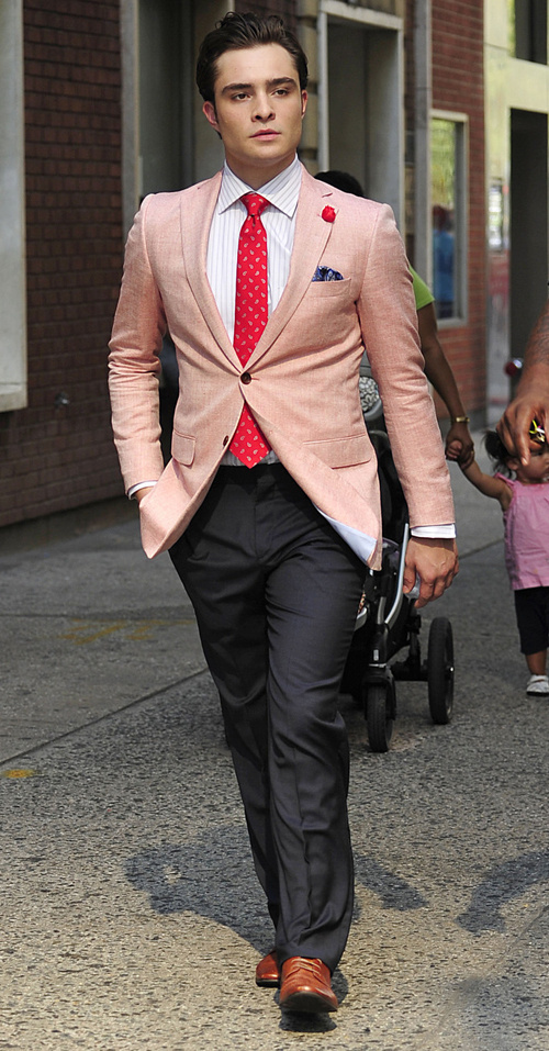 How to Wear a Pink Blazer (23 looks) | Men's Fashion