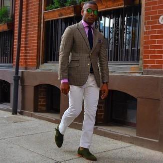Slim Fit Stretch Spread Collar Dress Shirt