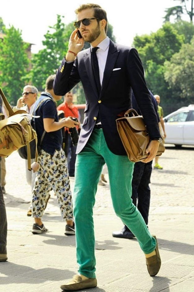 How to Wear Green Jeans (6 looks) | Men's Fashion
