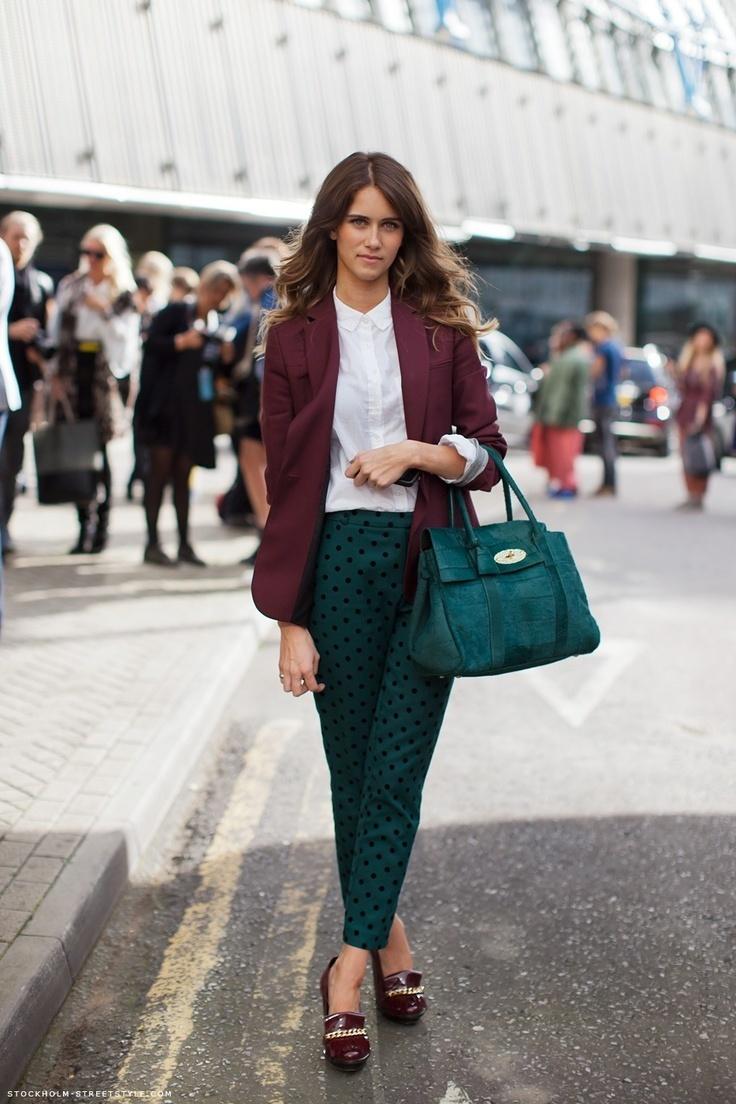 How to Wear a Dark Green Leather Satchel Bag (19 looks)   Women's ...