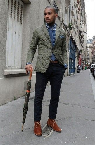 How to Wear an Olive Blazer (110 looks) | Men's Fashion
