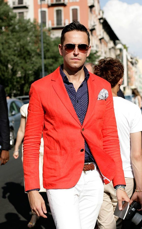How to Wear a Red Blazer (65 looks) | Men&39s Fashion