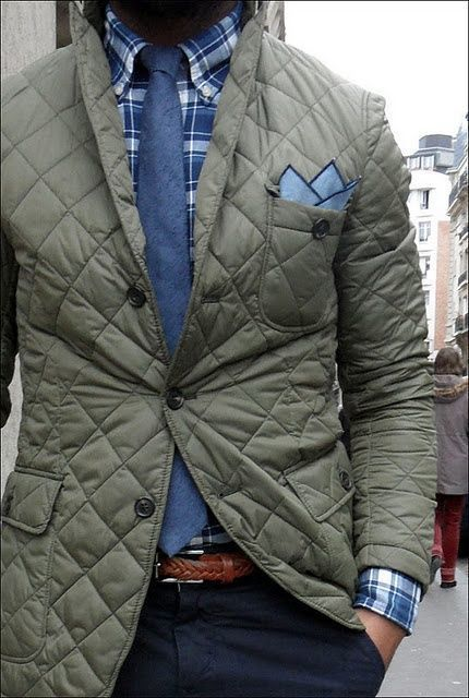 How to Wear a Quilted Blazer (10 looks) | Men's Fashion : mens quilted sport coat - Adamdwight.com