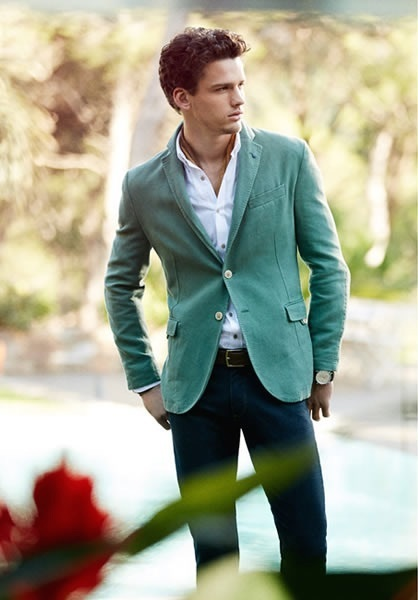 How to Wear a Green Blazer (23 looks) | Men's Fashion