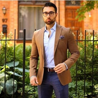 How to Wear a Tan Blazer (225 looks) | Men's Fashion