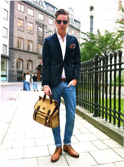Smart Casual Blazer Look The Smart Casual Look in a