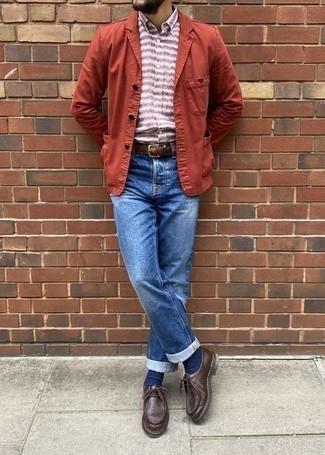 Single Button Blazer