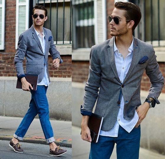 How To Wear Blue Jeans With Brown Boat Shoes 17 Looks Outfits