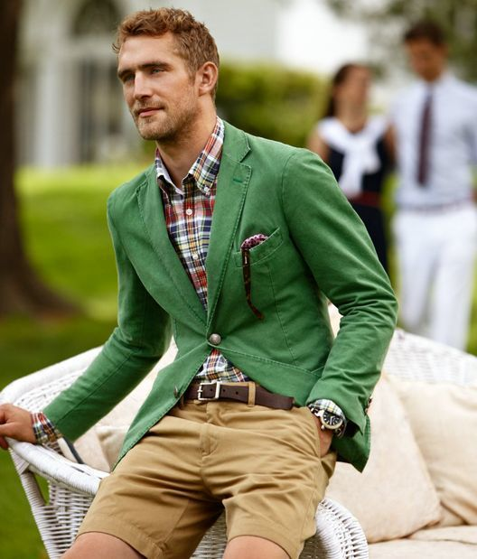 How to Wear a Green Blazer (27 looks) | Men's Fashion