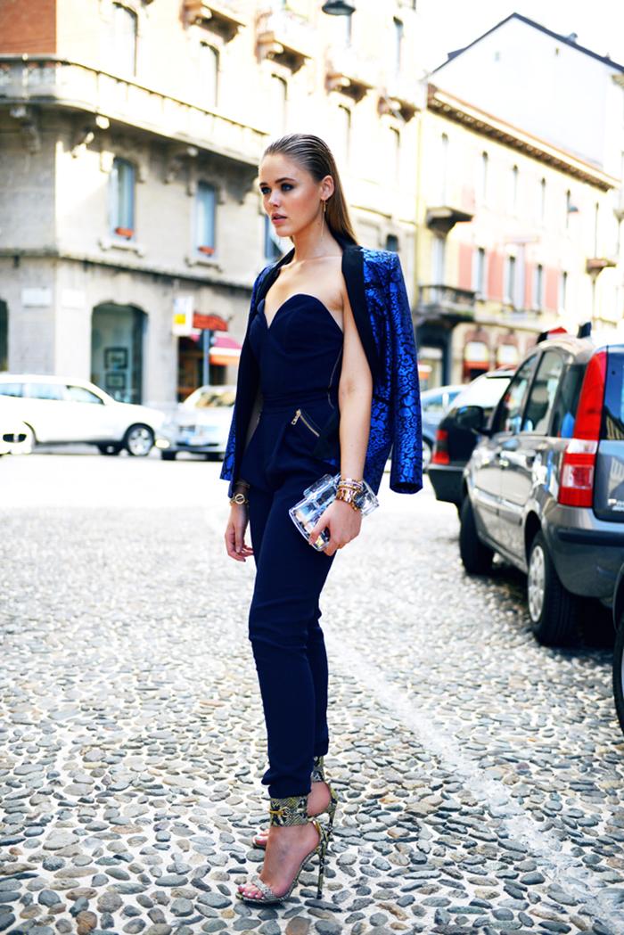 De Marino Mono Un Moda Looks Moda Azul Para Combinar 56 Cómo Owq0x4InE