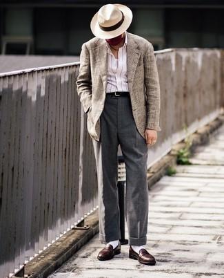 Straw Puritan Hat