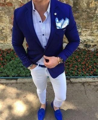 Slim Dean Jeans White