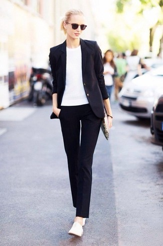 How To Wear Blue Dress Pants With a Navy Blazer | Women&39s Fashion