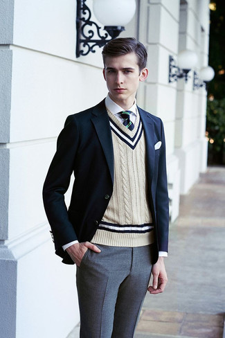 4d0b10dc2b1 How to Wear a Sweater Vest For Men (20 looks   outfits)