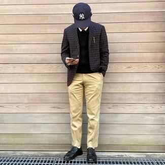 Black Transparent Knitted Vest