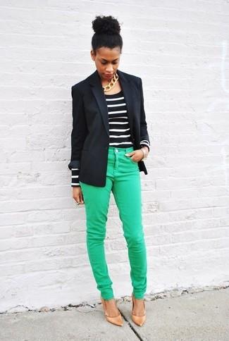 Relativ Comment porter un pantalon vert en 2017 (59 tenues) | Mode femmes VL34