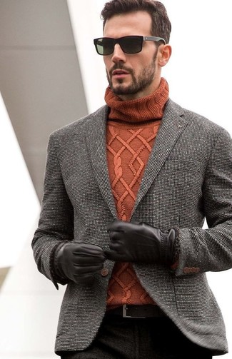 Tweed Tuxedo Jacket