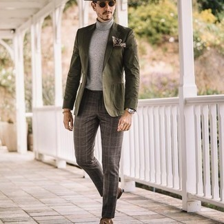 Two Button Side Vent Donegal Sport Coat