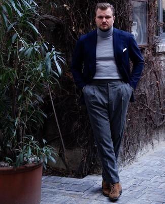 Italian Cashmere Turtleneck Sweater