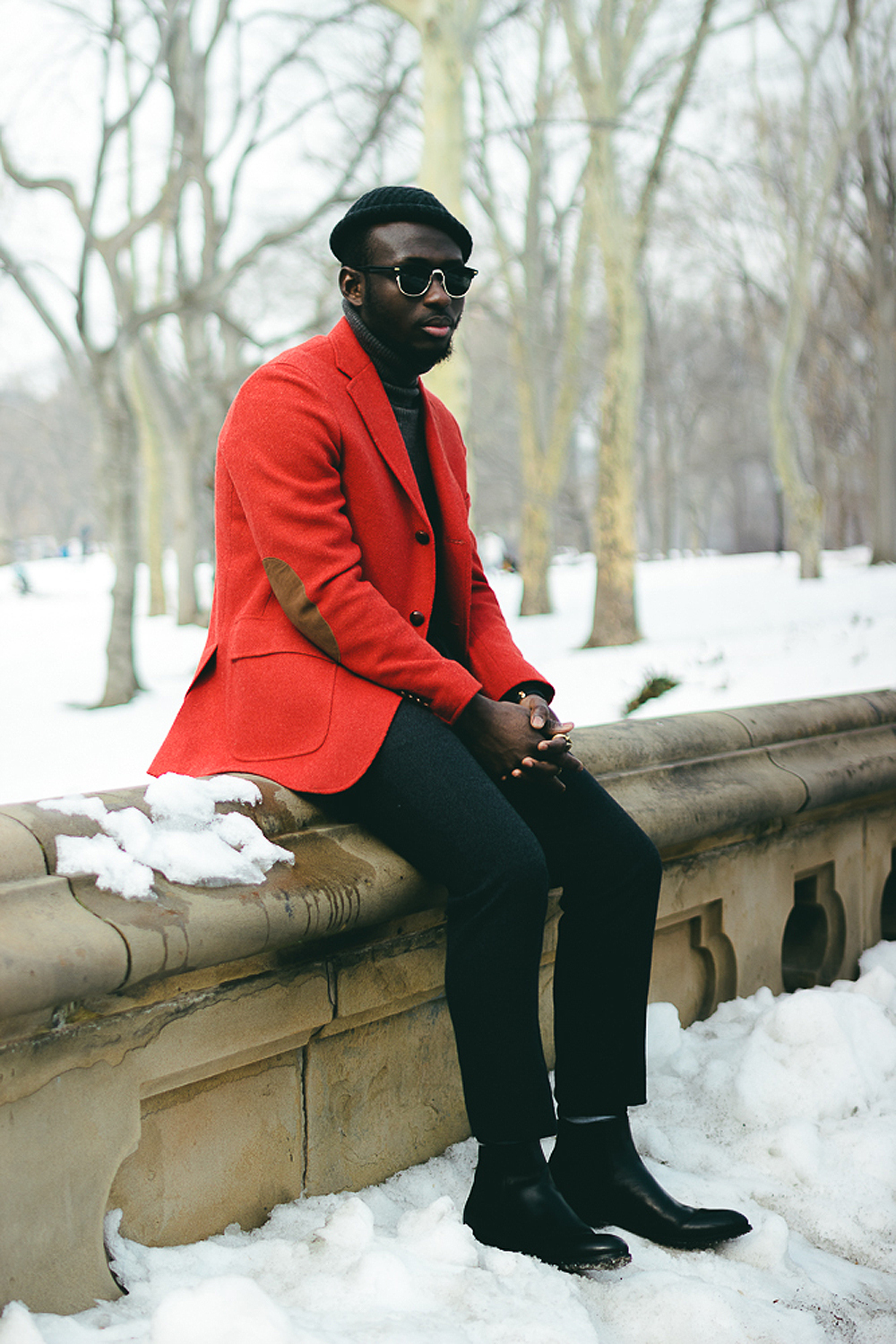 How to Wear a Red Wool Blazer (6 looks) | Men's Fashion