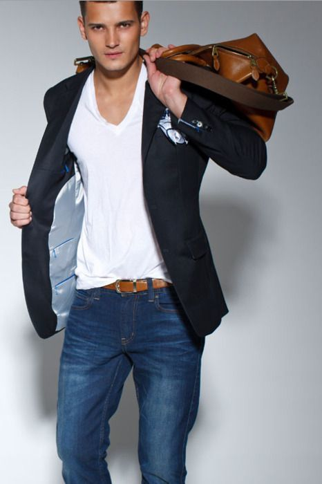 How to Wear a Black Blazer (199 looks) | Men&39s Fashion