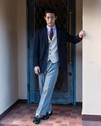 Light blue with color pants blazer what 9 Ways