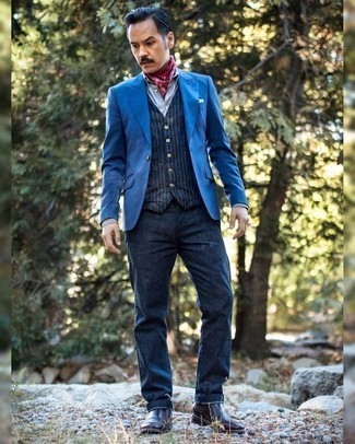 Light blue with color pants blazer what 9 Best