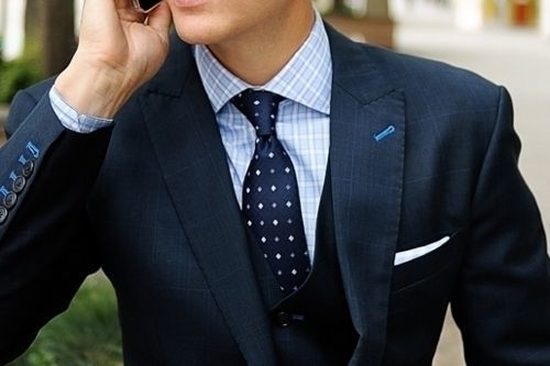 How to Wear a Navy Plaid Blazer (45 looks) | Men's Fashion