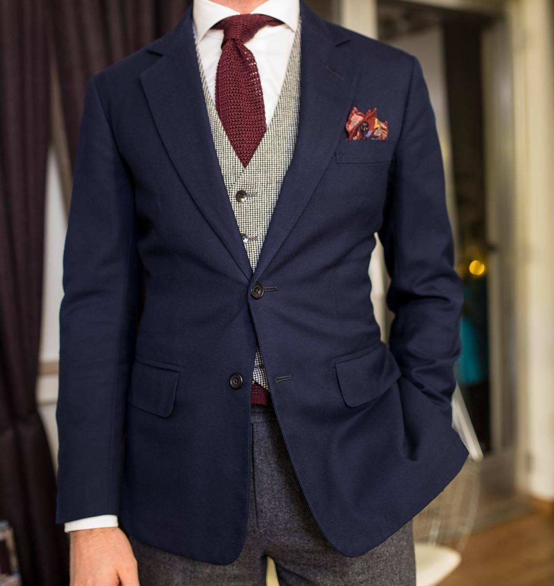 How To Wear A Navy Blazer With Wool Dress Pants For Men 56 Looks