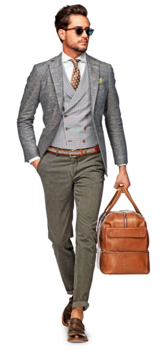 How to Wear Grey Chinos (212 looks) | Men's Fashion