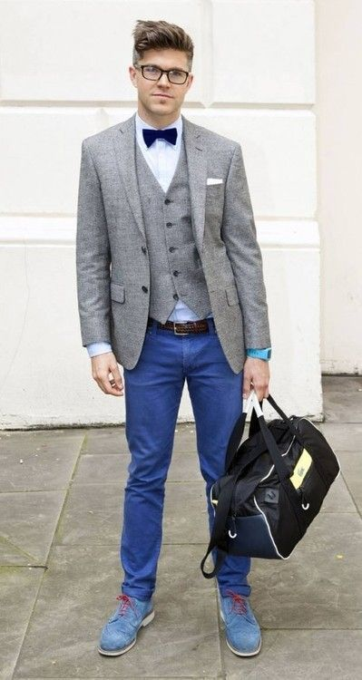 How To Wear Blue Dress Shoes 150 Looks Mens Fashion