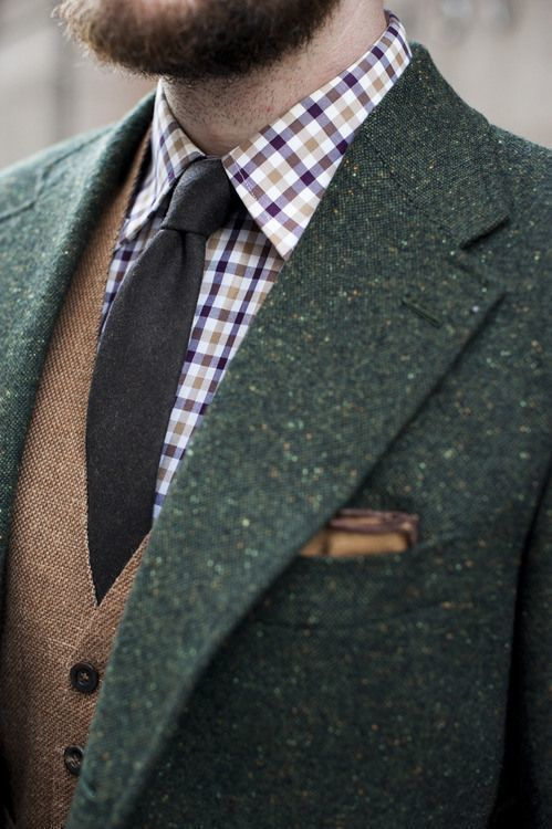 How to Wear a Dark Green Wool Blazer (30 looks) | Men's Fashion