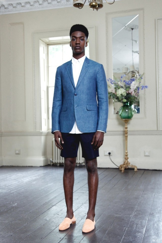 How To Wear Shorts With a Blue Blazer | Men's Fashion