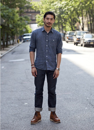 510 Skinny Fit Dark Blue Wash Jeans