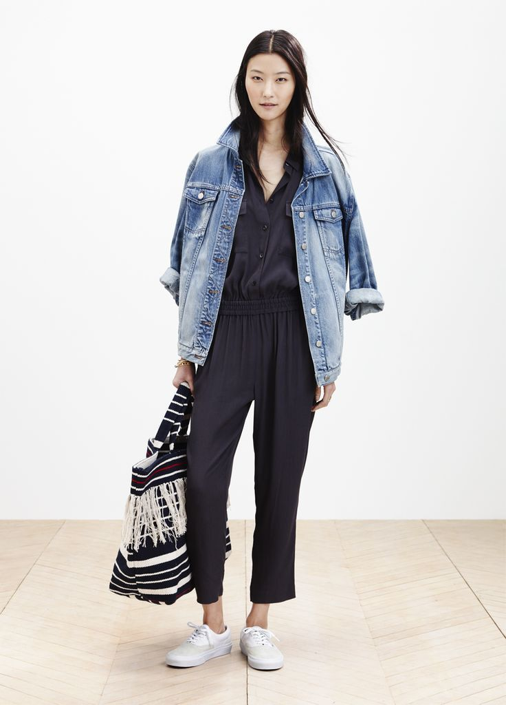 Znalezione obrazy dla zapytania jeans jacket tumblr
