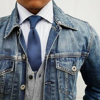 Goods And Co Light Wash Denim Jacket