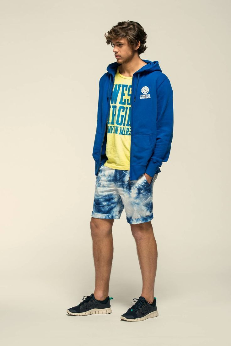 Orange Crew-neck T-shirt | Men's Fashion