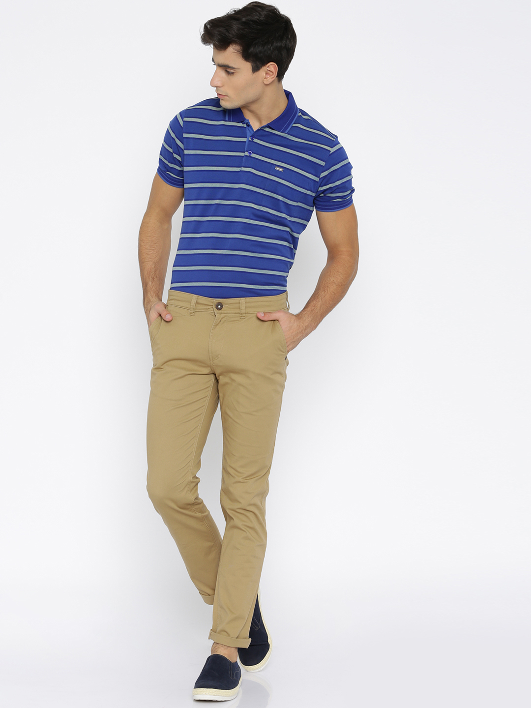 What Color Shoes With Khaki Pants And Navy Blue Shirt
