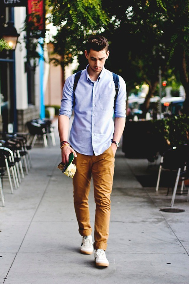 Image result for sneakers with chinos