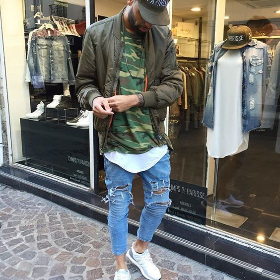 How to Wear an Olive Baseball Cap For Men (14 looks   outfits ... 3ccaa2ec5aad