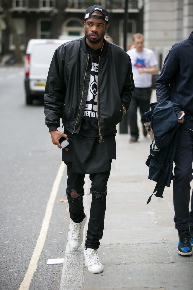 How to Wear a Black Bomber Jacket (122 looks) | Men&39s Fashion