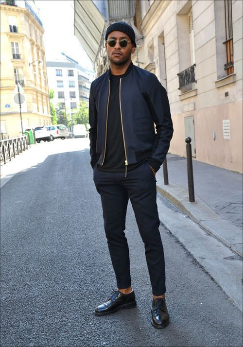 How to Wear Navy Dress Pants (274 looks) | Men's Fashion
