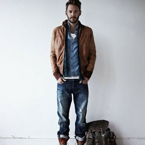 How To Wear Blue Jeans With a Blue Denim Shirt | Men's Fashion