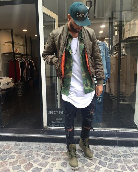 How to Wear a Dark Green Baseball Cap For Men (14 looks   outfits ... 2c29b7888145