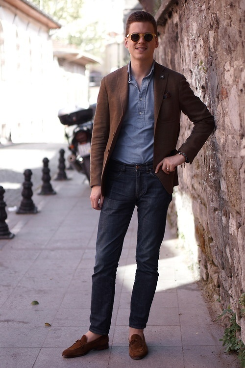 How to Wear a Brown Blazer (288 looks) | Men's Fashion