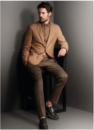Dark Brown Dress Pants | Men's Fashion