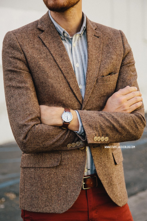 How to Wear a Brown Wool Blazer (127 looks) | Men's Fashion
