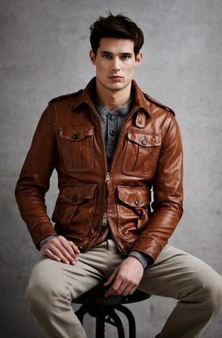 Glenwood Leather Jacket